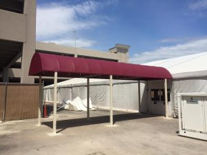 Meadows Casino Commercial Entrance Way Awning