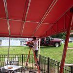 Welded Frame Awnings Southpointe