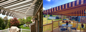 Retractable Awning and Fixed Frame Awning
